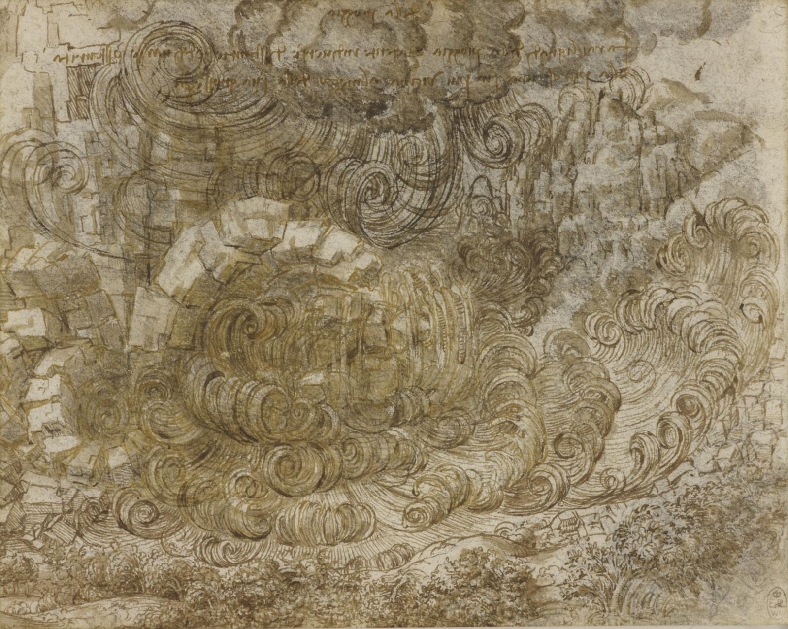 Leonardo-diluvio
